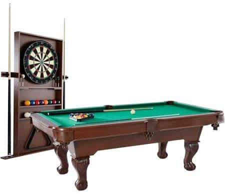 BARRINGTON 90 Inch Ball and Claw Leg Billiard Pool