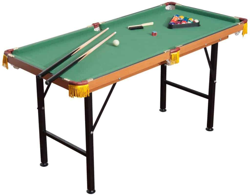 HomCom 55'' Portable Folding Billiards Table