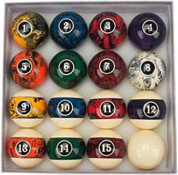 GSE Games & Sports Expert Billiard Pool Ball Set