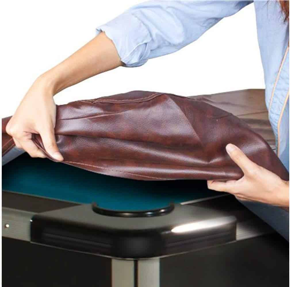 Boshen Heavy Duty Fitted Leatherette Billiard Pool Table Cover Furniture Cover