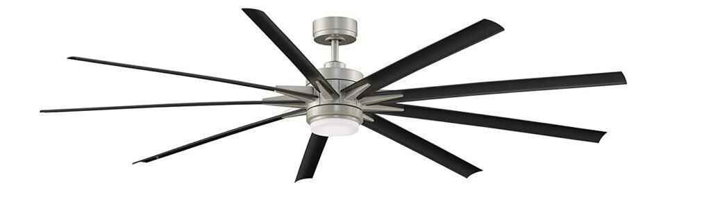 Fanimation FPD8149BNWBL Odyn Ceiling Fan with LED Light Kit and Remote