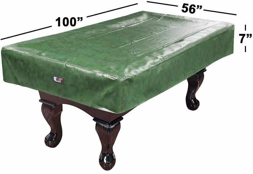 GSE Games & Sports Expert Heavy Duty Leatherette Best Pool Table Cover