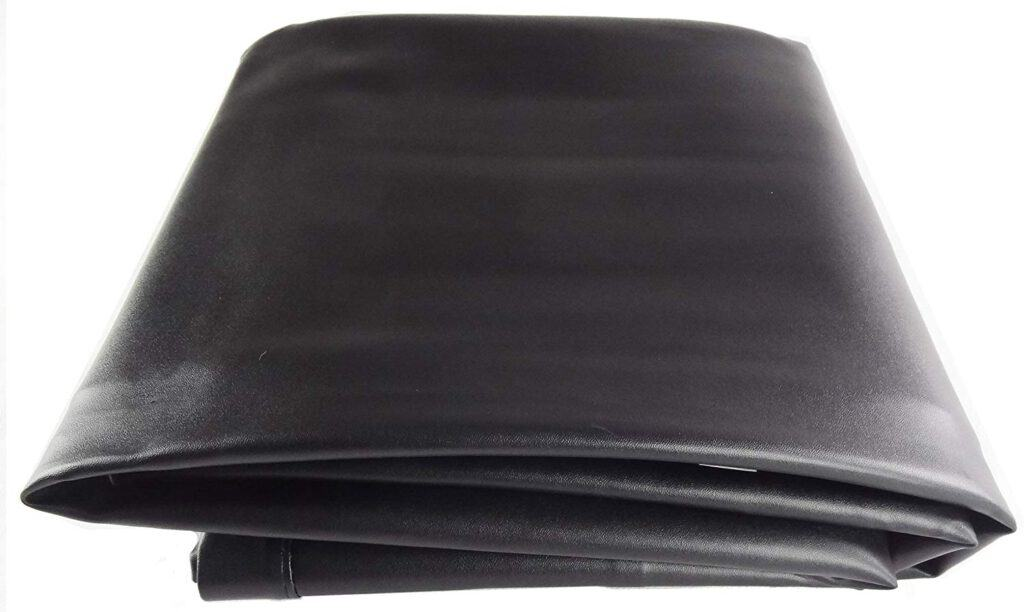 T&R sports Large Pool Table Cover Rip Resistant Billiard Table Cover, Black