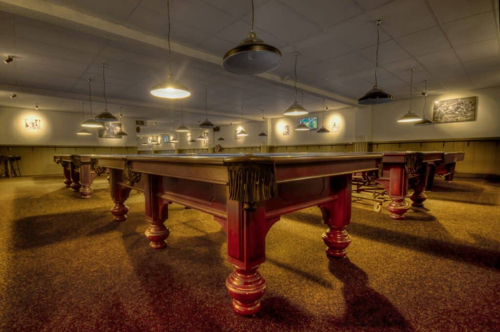 expensive billiard table