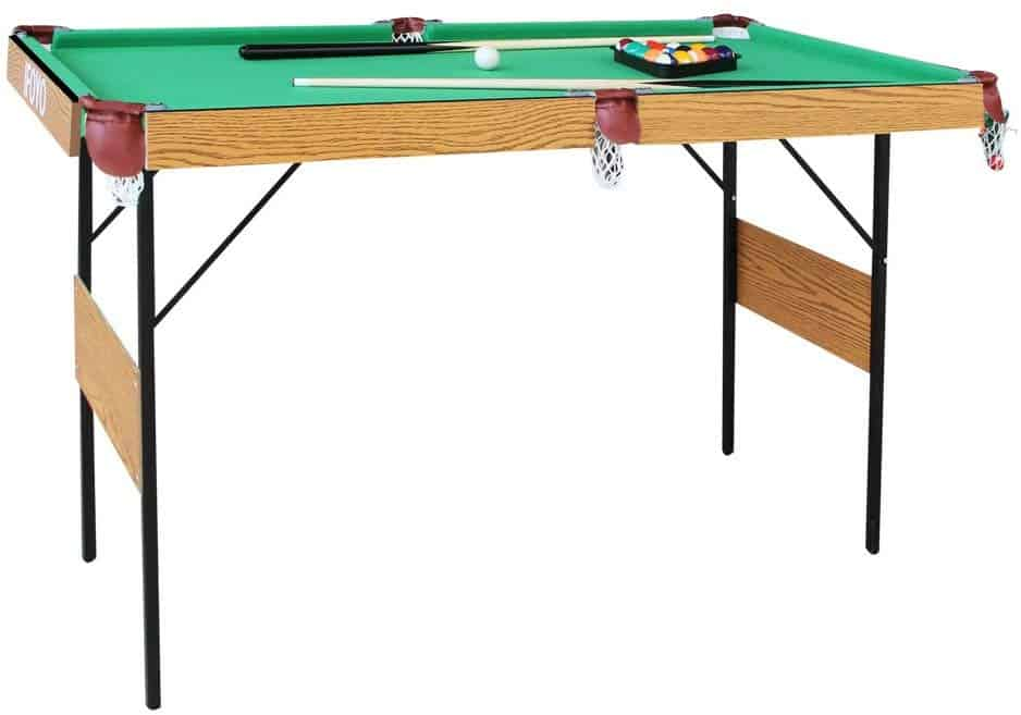 IFOYO Folding Pool Table, 55 Inch Folding Pool Table for Adults and Kids