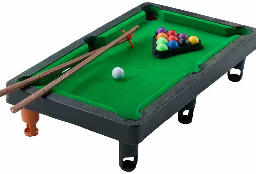 Mini Tabletop Pool Set Small Billiards Game by Ouken