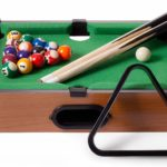 Tabletop Pool, Mini Pool Table & Billiard Set by Brybelly