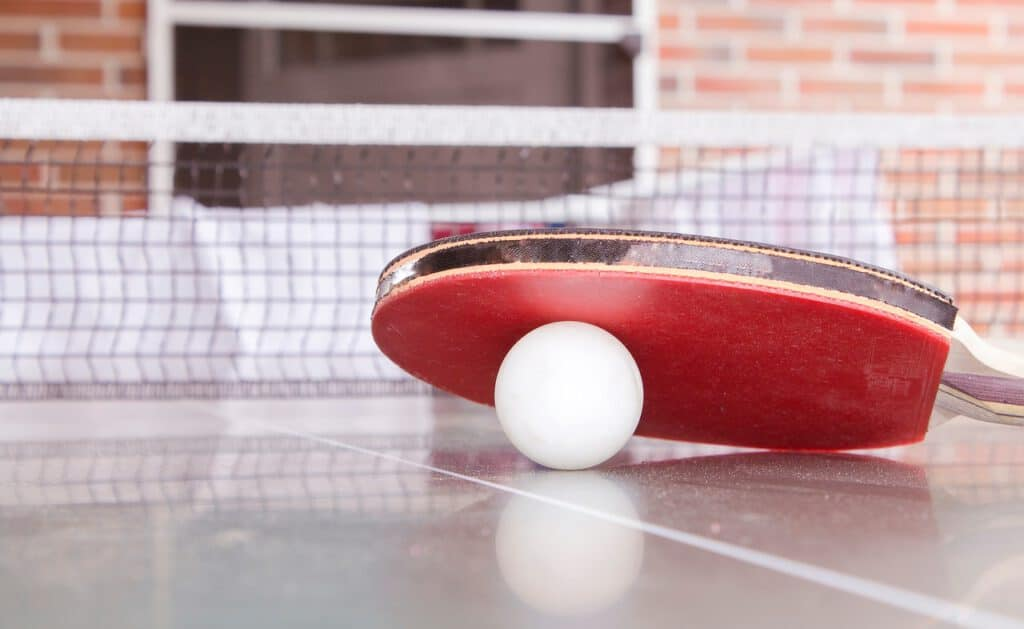 how to use a pingpong paddle