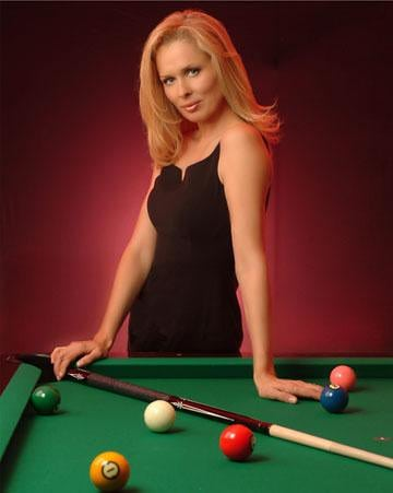 Ewa Mataya Laurance billiard player
