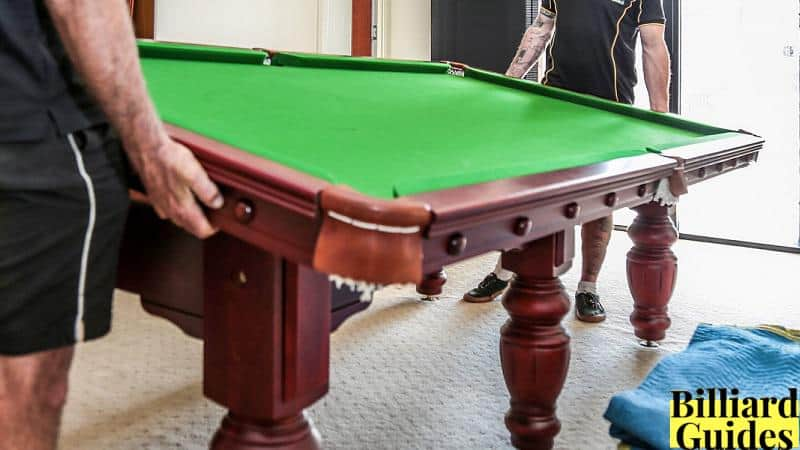 How to Disassemble a Pool Table