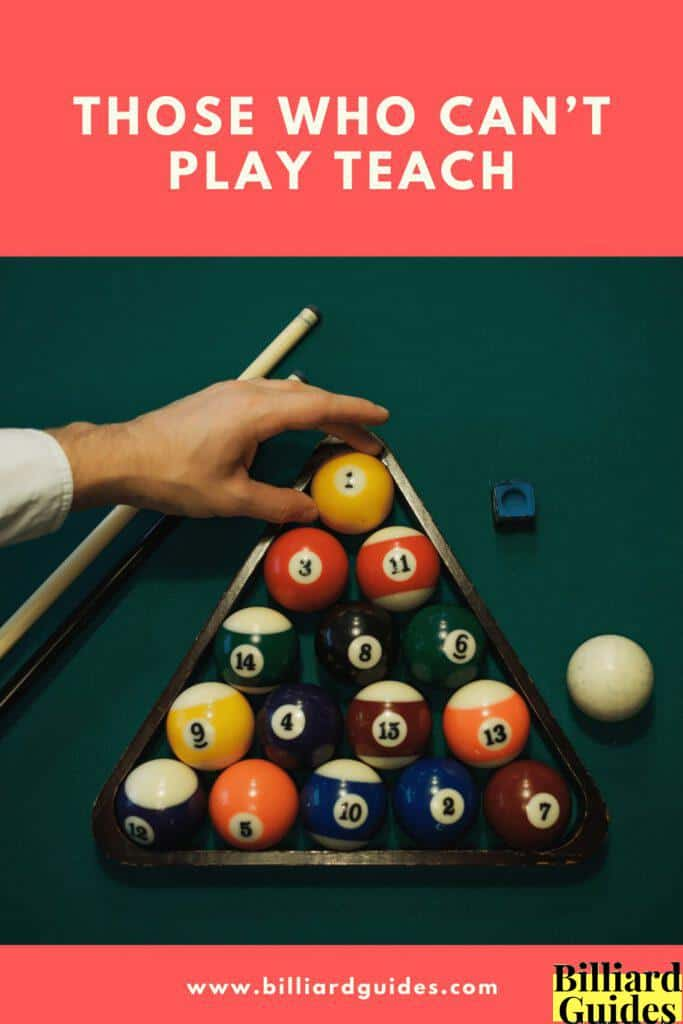 those who cant play teach