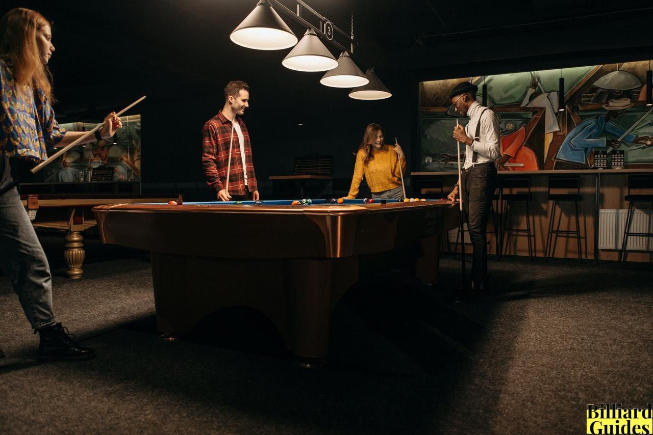 Perfect Size Pool Table for Bar