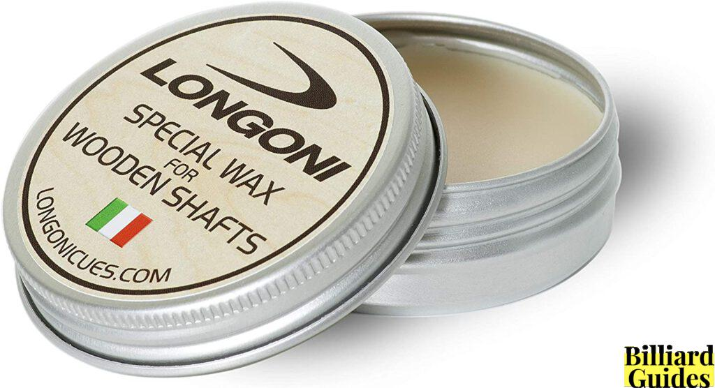 longoni special wax for wooden pool cue shaft
